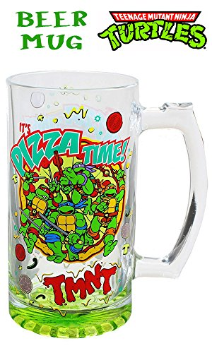 Teenage Mutant Ninja Turtles 1.5L Oversized Beer Mug (Ninja Turtles Who Is Who)