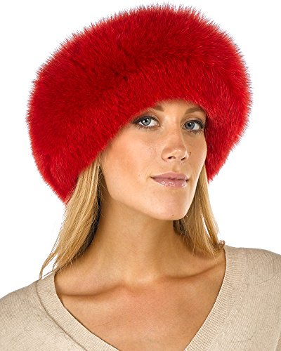 Frr Red Fox Fur Headband by Frr