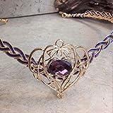 Elven Oracle Crystal Circlet Tiara Crown Custom Colors