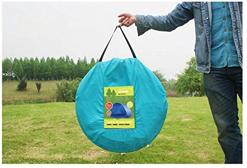 Portable Shelters Pop Up : Portable pop up sun wind shelter uv tent protection
