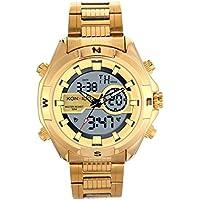 [Sponsored] KONXIDO Wristwatches Multifunctional Digital-Analog Dual Display Men's Watch Waterproof Shockproof Quartz Sports Watch