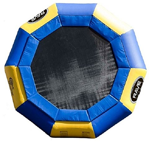 (RAVE Sports Aqua Jump 150-Eclipse Trampoline with Launch and Log)