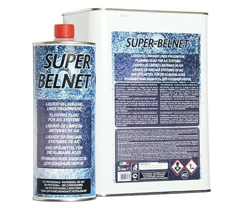 errecom Super belnet 5 l, líquido para la limpieza de ...