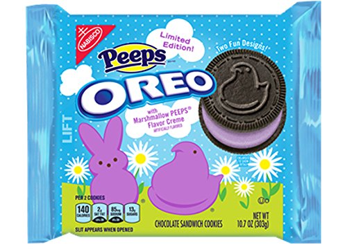 Oreo Peeps Chocolate Sandwich Cookies, 10.7 oz