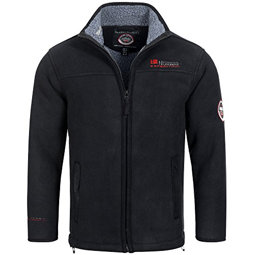 Geographical Norway ULMAIRE Men's Fleece Jacket Fleece Jacket Warm Teddy Fur Lining Size S – XXXL.