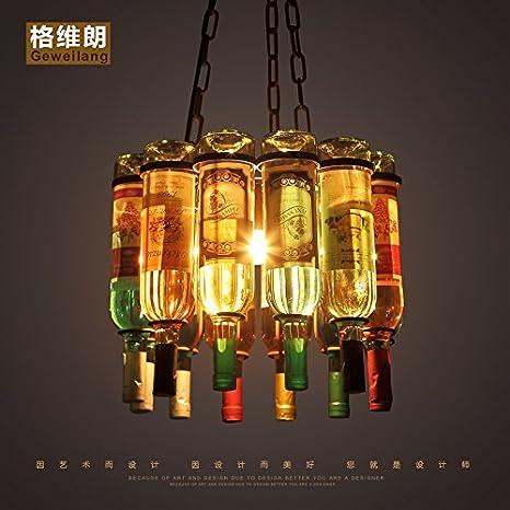DYBLING Araña de luces LED Simple Corredor dormitorio ...