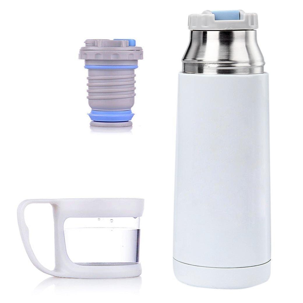 Funny Stainless Steel Vacuum Insulated Travel Mug This Grandma Is Bingo Queen, Purple White Travel Mug 14OZ/350ml by OneMtoss