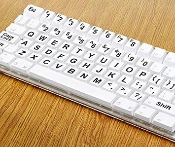 Great Ideas juego completo de ordenador teclado pegatinas grandes de impresión fácil de leer ideal para ...