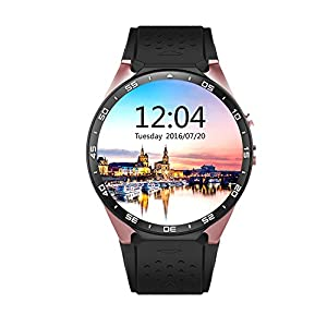 OAK Fitness Smartwatch, Bluetooth Smart Watch with GPS Tracker Pedometer Heart Rate for Android 5.1
