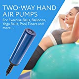 (2) Two-Way Hand Air Pumps for Exercise