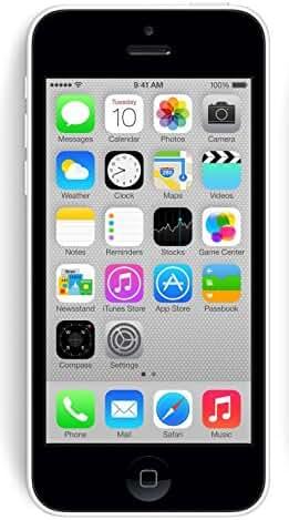 Apple iPhone 5C White 32GB Unlocked GSM Smartphone (Certified Refurbished)