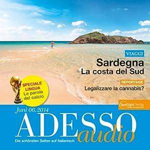 ADESSO audio - Le parole del calcio. 6/2014 Hörbuch