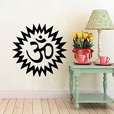 zqyjhkou Yoga Wall Art Vinyl Sticker Vinilos Decorativos ...