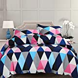 NTBAY 3 Pieces Duvet Cover Set Microfiber Colorful - Best Reviews Guide