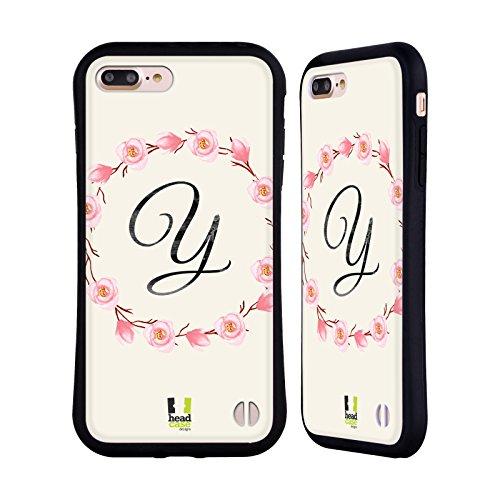 Head Case Designs Y Magnolias Floral Wreath 2 Hybrid Case for iPhone 7 Plus / iPhone 8 Plus - Apple Magnolia Wreath