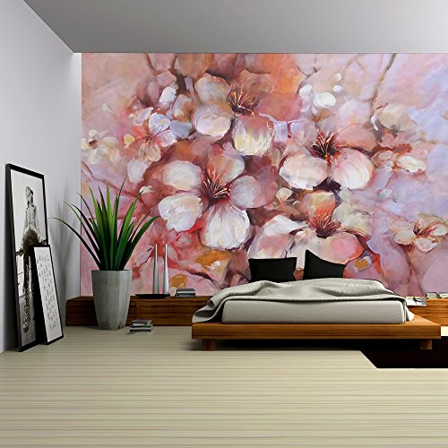 Almonds Blossom Handmade Oil Painting