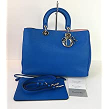 Christian Dior Women's Handbag Diorissimo Calfskin Leather Large