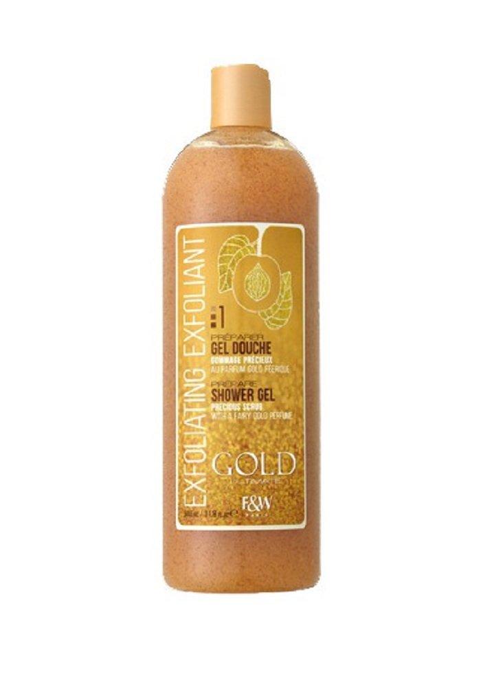 Fair & White Gold precious doccia esfoliante scrub 940ml Labo. Derma