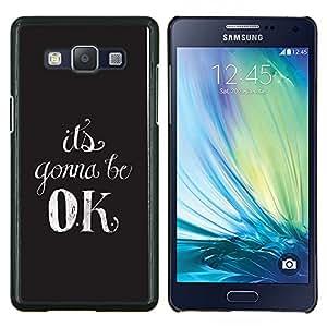 Stuss Case / Funda Carcasa protectora - Va Ok motivación Relájese Calmante - Samsung Galaxy A5 ( A5000 ) 2014 Version