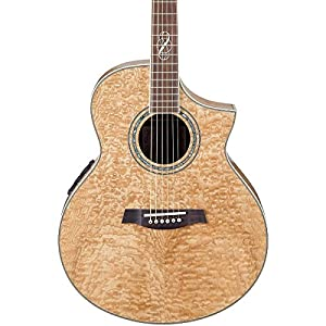 ibanez exotic woods series ew20asent figured ash acoustic electric cutaway guitar. Black Bedroom Furniture Sets. Home Design Ideas