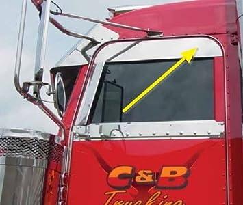 INTERNATIONAL PROSTAR 6 INCH CHOP TOP TRIM UPPER DOOR STAINLESS STEEL