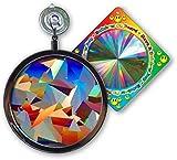 Suncatcher - Crystal Rainbow Window Sun Catcher - Includes a Bonus''Rainbow on Board'' Sun Catcher
