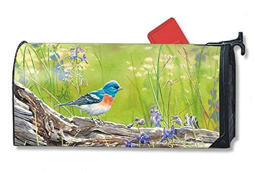 Meadow Bluebird Large MailWraps Magnetic Mailbox Cover #21272