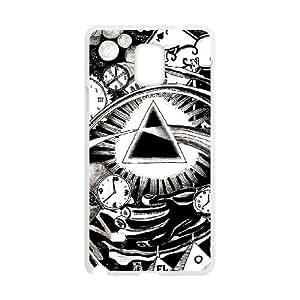 Samsung Galaxy Note 4 Case Covers White Pink Floyd 3 U2FK