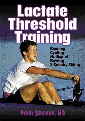 Lactate Threshold Training 1st (first) Edition by Janssen, Peter published by Human Kinetics (2001)