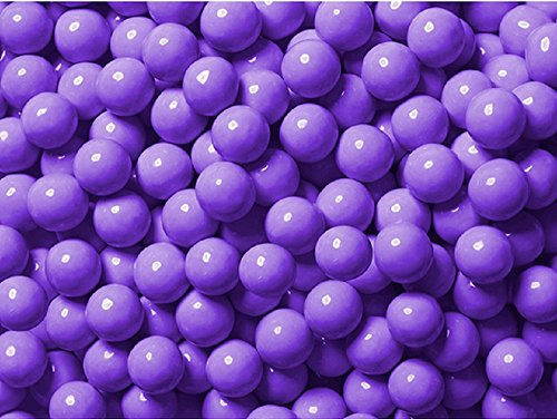 Mini Chocolate Balls (Light Purple Lavender Sixlets Mini Milk Chocolate Balls 1 LB bag)