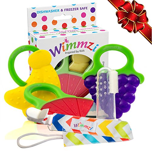 Teething Wimmzi BPA Free Silicone Toothbrush product image