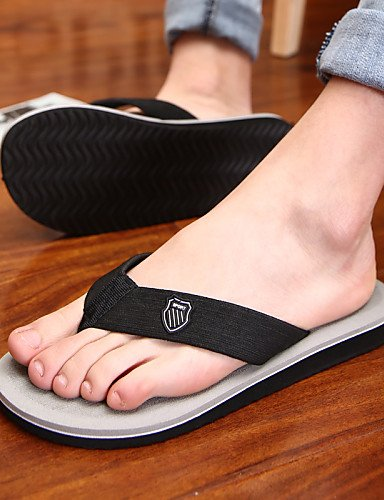 NTX/ Men's Shoes Outdoor / Casual Fabric Flip-Flops Black / Brown / Gray brown-us8.5-9 / eu41 / uk7.5-8 / cn42 pzjZq8oF