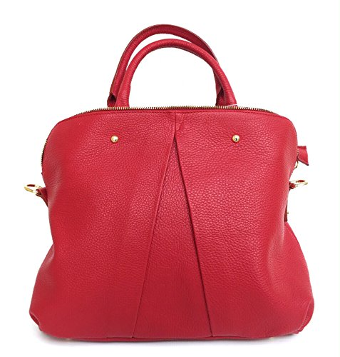 Superflybags - Womens Tote Bag M Red