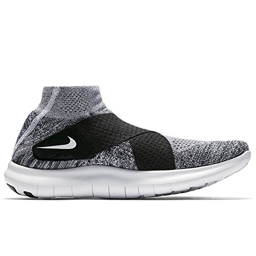 Nike Men's Free Rn Motion FK 2017 Running Shoe 9 Black