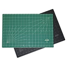 Adir Professional Self Reversible Healing Cutting Mat, 30 by 42-Inch, Green/Black