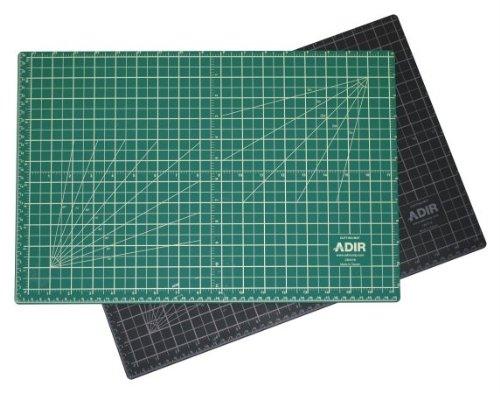 Alvin Mats (Adir Professional Self Reversible Healing Cutting Mat, 18 by 36-Inch, Green/Black)