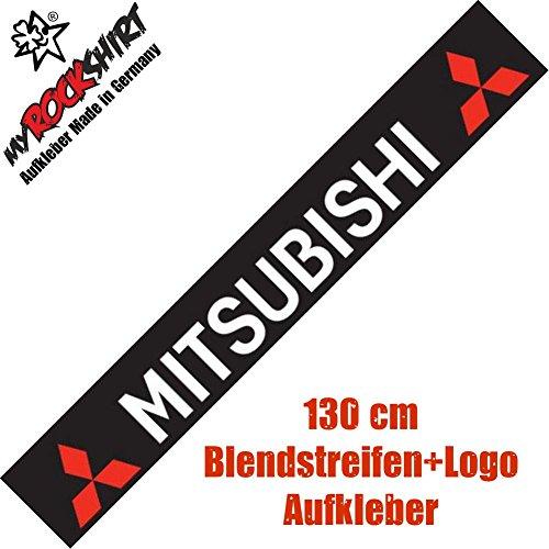 in einem st gedruckte Montageanleitung von myrockshirt Frontscheibenaufkleber Mitsubishi Typ2 Blendstreifen Logo Aufkleber Set `+ Bonus Testaufkleber Estrellina-Gl/ückstern /® Versand erfolgt aus Deutschland innerhalb von maximal 48 Stunden