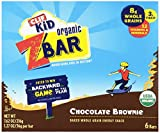 Clif Kid Organic ZBar, Chocolate Brownie,1.27oz Bars, 6 Count (Pack of 6)