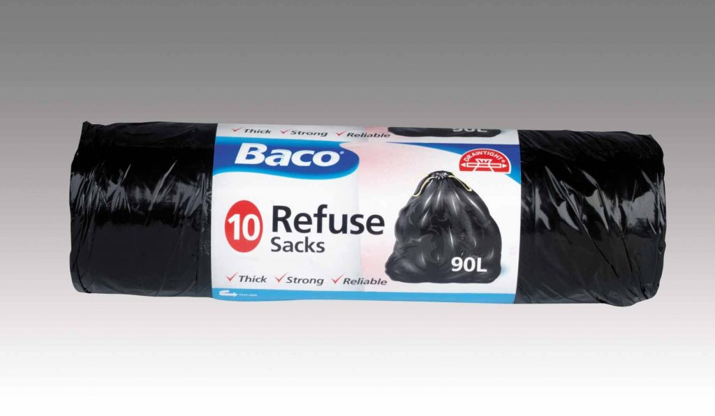 Garden Refuse Bin Bags Rubbish Sacks Thick Strong Reliable 90 Litres Fast Post Bacofoil