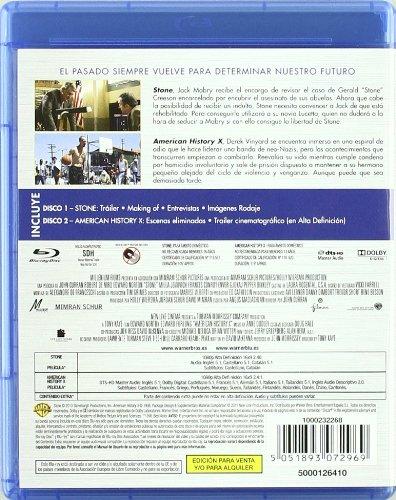 Stone + American History X (Blu-Ray) (Import Movie) (European Format - Zone B2) (2011) Robert De Niro; Edward