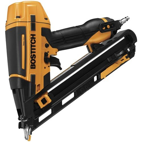 BOSTITCH Finish Nailer Kit, 15GA, DA Style with SmartPoint (BTFP72155)