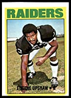1972 Topps #186 Gene Upshaw Excellent RC Rookie Raiders