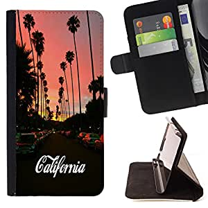 Pattern Queen - California Funny - FOR Samsung Galaxy Note 3 III - Hard Case Cover Shell