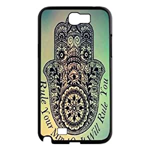 Clzpg Durable Samsung Galaxy Note2 N7100 Case - Buddha diy case cover