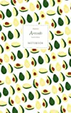 Avocado Notebook - Ruled Pages - Premium: (White Edition) Fun notebook /...