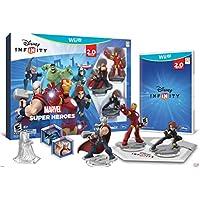 Disney INFINITY: Marvel Super Heroes (edición 2.0) Paquete de inicio de videojuegos - Wii U