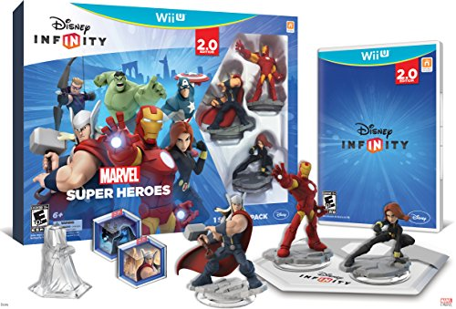 - Disney INFINITY: Marvel Super Heroes (2.0 Edition) Video Game Starter Pack - Wii U