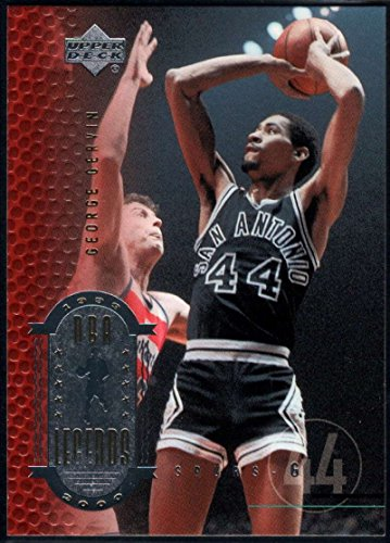 1999-00 (2000) Upper Deck Legends Basketball #38 George Gervin San Antonio Spurs Official UD NBA Trading Card