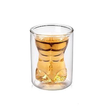 Lot de 4 Crâne de cristal Head Vodka Shot Verres à vin Tasses à thé ...