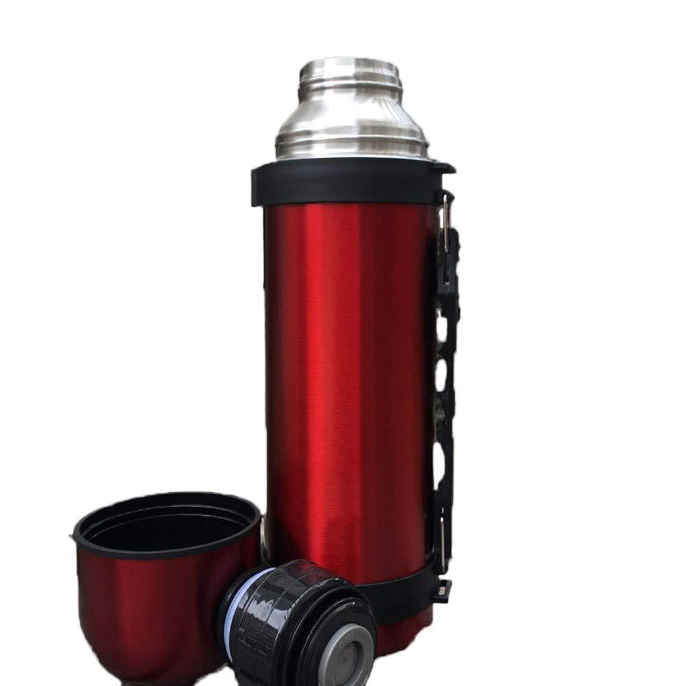 GEDDGGDS Reise - Elektrische heißes Wasser Cup Outdoor - 304 edelstählen Tragbare Wasser Cup schüler - Hand - Cup - Topf,Rose ROT Rose Gold